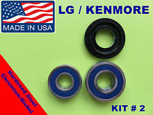 LG FRONT LOAD WASHER 2 TUB BEARING   SEAL Kenmore  KIT   2   4036er2004a