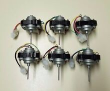6 Pack New WR60X10168 Condenser Fan Motor For GE Refrigerator WR60X10028