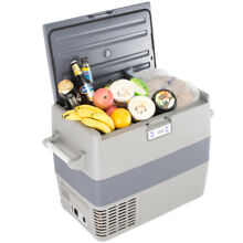 1 8 cu ft Refrigerator Freezer AC DC 12V 24V Digital Compressor Cooler Truck RV