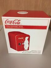 Coca Cola Retro Personal Fridge Thermoelectric Cooler Stock   G250