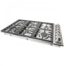 ZLINE 36  Dropin Cooktop with 6 Gas Burners STAINLESS STEEL KITCHEN  RC36
