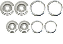 Drip Pans   Rings Set for Vintage GE and Hotpoint Ranges 2 6    2 8