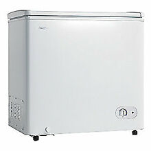 DANBY Compact Chest Freezer  7 2 Cu  Ft  DCF072A3WDB  White