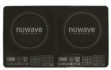 NuWave Double Precision Induction Cooktop Black kitchen fry burner stovetop cook