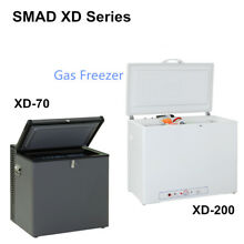 LPG Propane Gas Chest Freezer Fridge 110V Electric Truck RV Camp Travel Outdoor