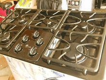 GE Profile JGP963BEC 36  Gas Cooktop with 5 Sealed Burners