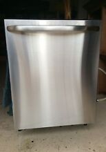 GE GLDT696JSS  Used Less than 10x  Built In Dishwasher with Hidden Controls