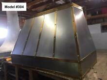 Zinc Custom Range Hood Includes Motor  Cornu Fe Or La Canche Hood   Model  304