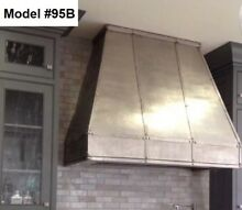 Custom Metal Range Hood Incl  Motor  Cornu Fe Or La Canche Hood   Model  95