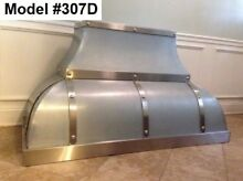 Custom Metal Range Hood Incl  Motor  La Cornue Or La Canche Hood   Model  307D