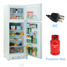 9 4 cu ft Cabin Propane Refrigerator Freezer 110V   Gas Fridge Garage Off Grid