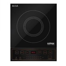 Cusimax 1800W Induction Cooktop  8 7   Countertop Burner with 6 Cooking