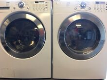 LG Premium Front Loading Ultra Capacity Washer   Dryer  Stainless Steel Drums