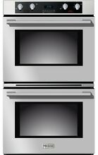 Verona VEBIEM3030DSS 30  Electric Double Wall Oven Self Cleaning Stainless Steel