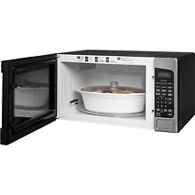 Countertop Microwave Oven 2 0 Cu ft Kitchen Cooking Stainless Steel Sensor New