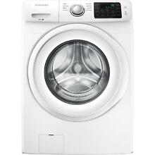 Samsung 4 2 cu  ft  stackable Front Load Automatic Washer Washing Machine White