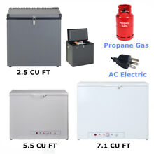 SMAD 2 5 7 1 CU FT LP Gas Freezer Fridge Propane Gas 110V Cabin RV Van Camper