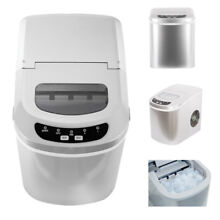 SMAD Countertop Ice Maker Portable Ice Making Machine 26lbs  Day Bar Home Party