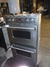 Viking Double Oven   VED0205ss   good working Condition