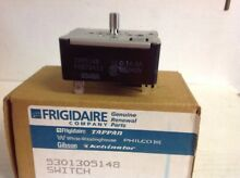 OEM Frigidaire Electric Range Top Burner Switch 5301305148  Box48