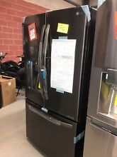 LG   29 6 Cu  Ft  Door in Door French Door Refrigerator   Black Stainless Steel