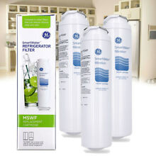 3 Pack GE MSWF Refrigerator Water Filter Fit GE Profile Side By Side Fridge 300G