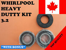 FRONT LOAD WASHER 2 TUB BEARINGS AND SEAL Whirlpool KIT   3 2