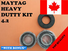 FRONT LOAD WASHER 2 TUB BEARINGS AND SEAL  Maytag Amana  KIT   4 2