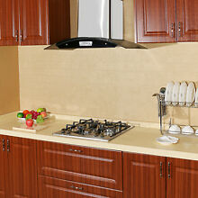 23  Elegant Curve Stainless Steel 4 Burners Stove NG LPG Gas Hob Cooktops