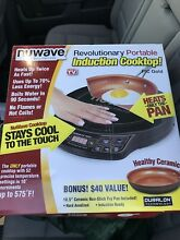 Nuwave Precision 12 in  Induction Cooktop With Pan