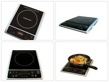 Micro Induction Cook Top Hot Plate in Black Micro Crystal Ceramic Plate SR 964TS