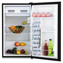 3 3 Cu  Ft  Refrigerator with Chiller Compartment  Black