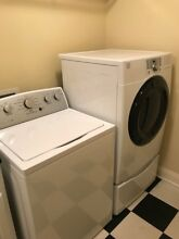 Kenmore 22352 4 2 cu  ft  Top Load Washer   Dryer Set Drying Rack Squeaky Clean