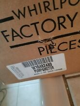 WHIRLPOOL DISHWASHER PUMP AND MOTOR PART W10482480