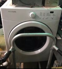 Frigidaire FFQE5000QW 27 Inch Electric Dryer in White   local pick up only
