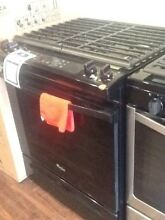 Whirlpool Black 4 Burner Slide In 30 in Gas Stove with Warranty WEG515S0FB0
