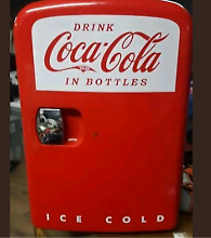Koolatron Coca Cola Personal 6 Can Compact 4 Liter Mini Fridge In Red Coke New