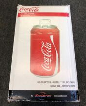 Portable Coca Cola Can Refrigerator Compact Mini Red Electric Coke Soda Fridge