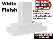 New Vent A Hood CWLH9248 WH White Kitchen Vent Warranty 600 CFM 48 Inches wide