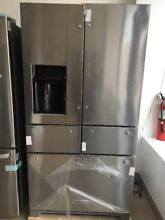 25 8 Cu  Ft  36 Inch 5 Door Freestanding Refrigerator