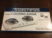 Toastess THP 433 Electric Double Coil Cooking Range  White