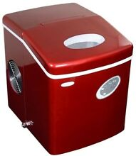 NewAir Appliances Red Portable Ice maker