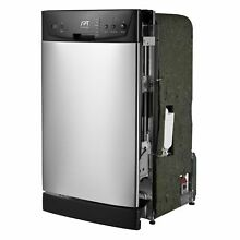 SPT Energy Star 18 inch Built In Dishwasher   Stainless Steel