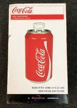 Koolatron Coca Cola 8 Can Mini Can Fridge   Red  CC06   Brand New