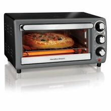 Hamilton Beach Toaster Oven In Charcoal  BEST PRODUCT
