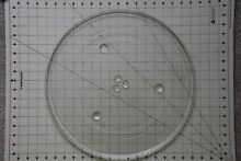 Panasonic Microwave Oven Glass Turntable Plate   Tray 16 1 2  A06014M00A