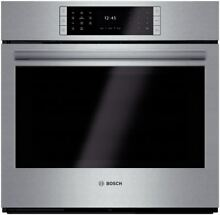 Bosch Benchmark 30 Inch Single Electric Wall Oven HBLP451UC