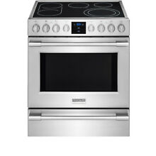 Frigidaire Professional 30  Stainless Steel Slide In Electric Range FPEH3077RF