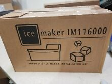 Electrolux IM116000 Automatic Ice Maker Installation Kit New open box