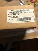 00144001 NEW FACTORY SEALED IN BOX  PART IS NLA  Thermador Range Display